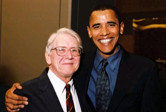 Quentin D. Young, pictured with President Obama.
