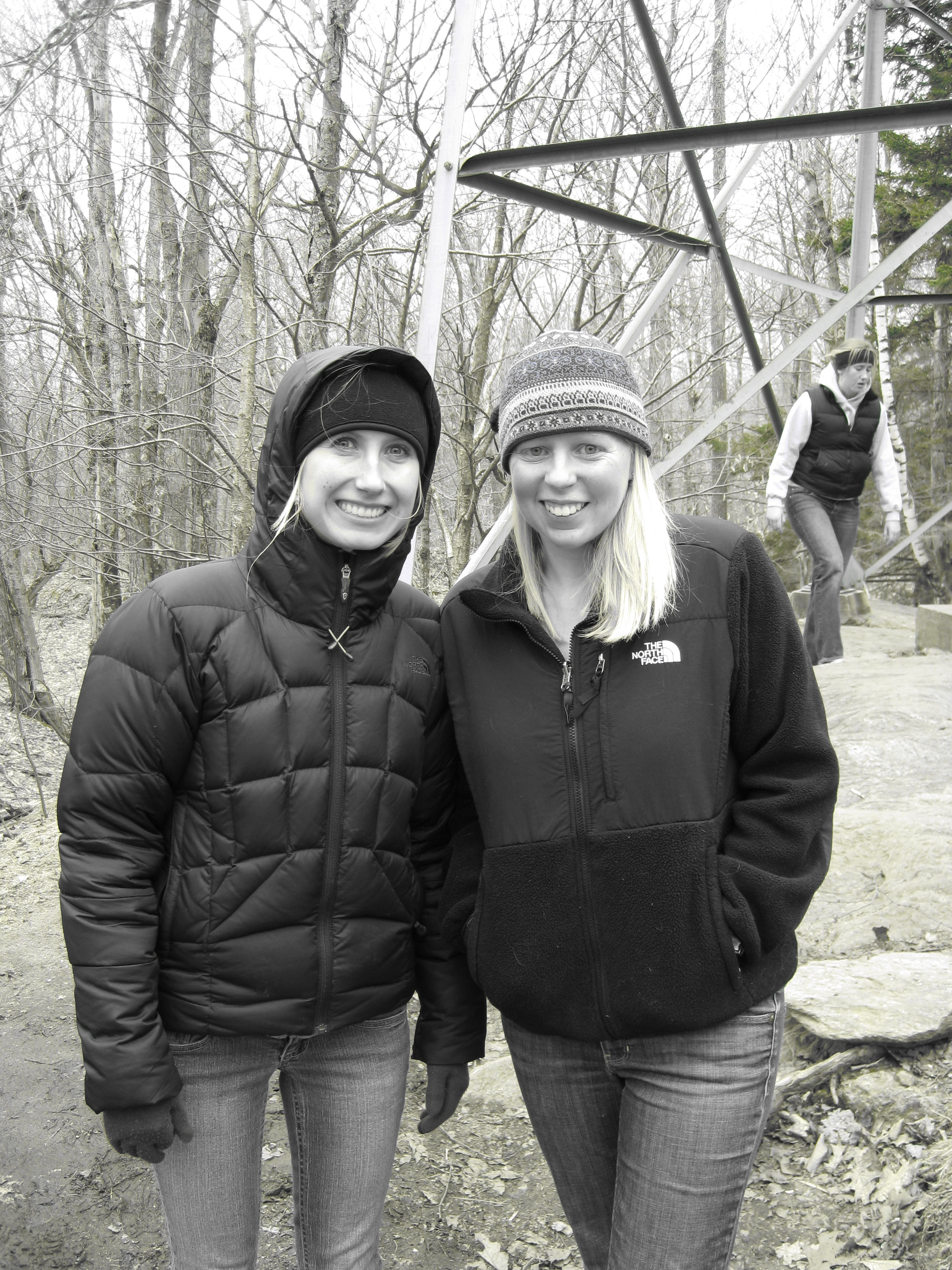 Schweitzer Fellows Alissa Curda and Liz Killien launched an outdoor education program for underserved youth.