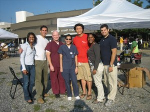 Greater Philadelphia Schweitzer Fellows offered screenings and health workshops to underserved Camden residents.