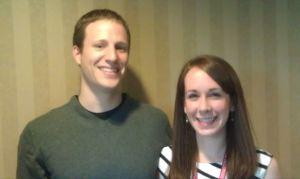 Schweitzer Fellows Martin Piazza and Lauren Hartman