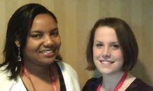 Schweitzer Fellows for Life Melissa Hector-Greene and Kimberly Cocce